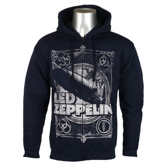 mikina pánská Led Zeppelin - Navy, NNM, Led Zeppelin