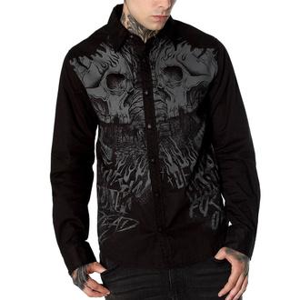 košile pánská HYRAW - CEMETERY - FW19-M18