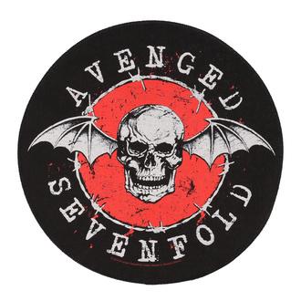 nášivka velká Avenged Sevenfold - Distressed Skull - RAZAMATAZ, RAZAMATAZ, Avenged Sevenfold