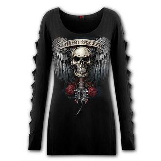 tričko dámské s dlouhým rukávem SPIRAL - UNSPOKEN, SPIRAL