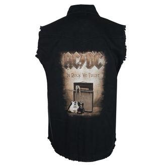 košile pánská bez rukávů (vesta) AC/DC - IN ROCK WE TRUST - RAZAMATAZ, RAZAMATAZ, AC-DC