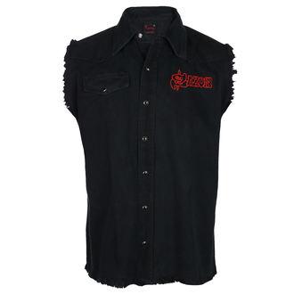 košile pánská bez rukávů (vesta) SAXON - WHEELS OF STEEL - RAZAMATAZ, RAZAMATAZ, Saxon