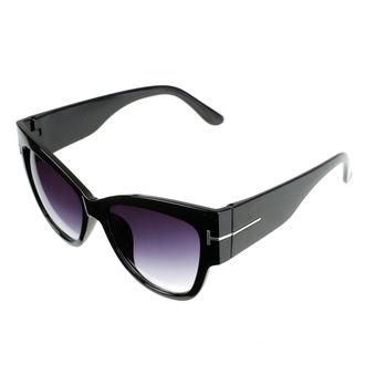 brýle sluneční dámské JEWELRY & WATCHES - Cat - Black, JEWELRY & WATCHES