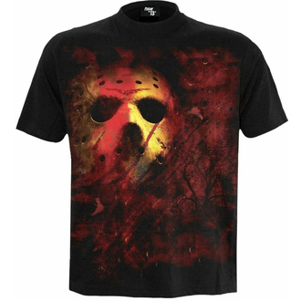 tričko pánské Spiral - Friday The 13th - JASON LIVES - Black, SPIRAL, Friday the 13th