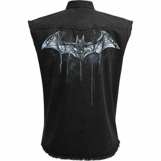 košile pánská bez rukávů (vesta) SPIRAL - Batman - NOCTURNAL - Black, SPIRAL, Batman