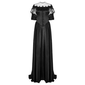 šaty dámské (svatební, plesové) PUNK RAVE - Black Ruby Gothic, PUNK RAVE