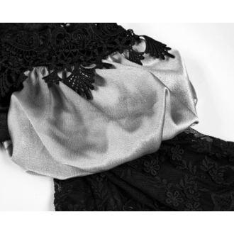 šaty dámské (svatební, plesové) PUNK RAVE - Black Ruby Gothic - WQ-356/BK