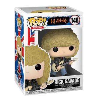 figurka Def Leppard - POP! - Rick Savage, POP, Def Leppard