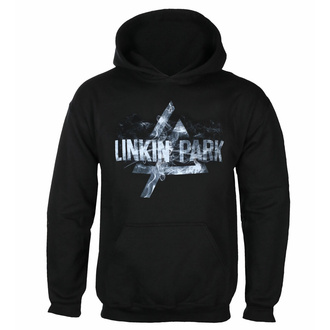 mikina pánská LINKIN PARK - SMOKE LOGO - PLASTIC HEAD - PHD12076HSW