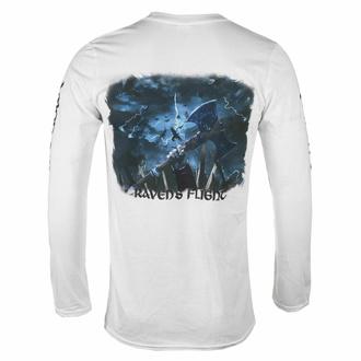 tričko pánské s dlouhým rukávem AMON AMARTH - RAVEN'S FLIGHT - WHITE - PLASTIC HEAD - PH12123LS