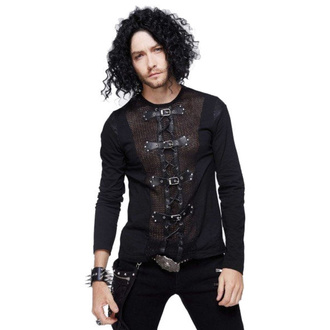 tričko pánské s dlouhým rukávem DEVIL FASHION, DEVIL FASHION