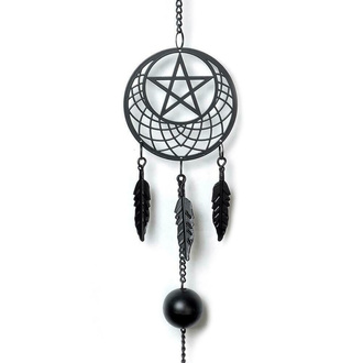 zvonkohra (dekorace) ALCHEMY GOTHIC - Pentagram Dream Catcher, ALCHEMY GOTHIC