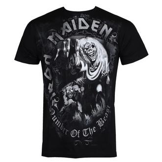 tričko pánské Iron Maiden - Number Of The Beast - ROCK OFF - IMTEE08MB