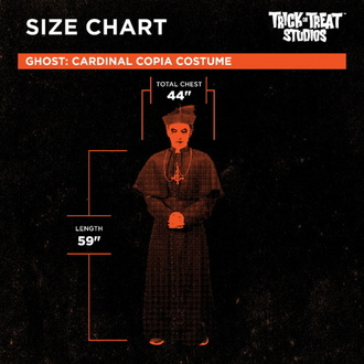 kostým Ghost - Cardinal Copia, Ghost