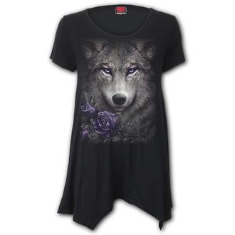 tričko dámské (tunika) SPIRAL - WOLF ROSES, SPIRAL