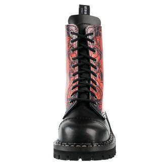 boty STEADY´S - 10 dírkové - Baphomet, STEADY´S