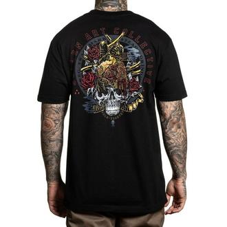tričko pánské SULLEN - GOLD HEARTED - BLACK - SCM3044_BK