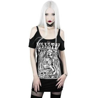 tričko dámské KILLSTAR - Gory Distressed - BLACK - KSRA001848