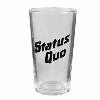 sklenice STATUS QUO - LOGO - RAZAMATAZ, RAZAMATAZ, Status Quo
