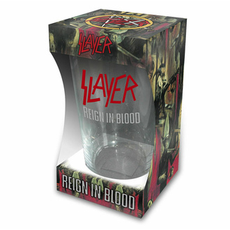 sklenice SLAYER - REIGN IN BLOOD - RAZAMATAZ, RAZAMATAZ, Slayer