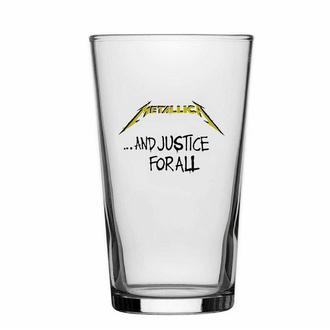 sklenice METALLICA - AND JUSTICE FOR ALL - RAZAMATAZ, RAZAMATAZ, Metallica