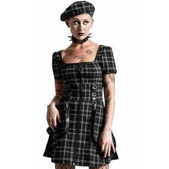 šaty dámské KILLSTAR - Grave Rebellion - ASH TARTAN, KILLSTAR