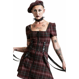 šaty dámské KILLSTAR - Grave Rebellion - BLOOD TARTAN, KILLSTAR