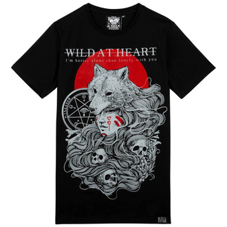 tričko unisex KILLSTAR - Wild At Heart - BLACK - KSRA001866