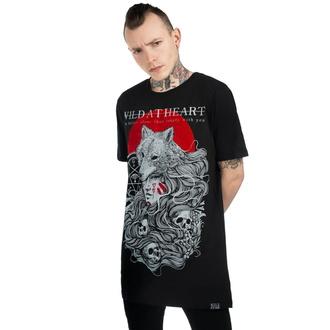tričko unisex KILLSTAR - Wild At Heart - BLACK - KSRA001866