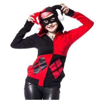 mikina dámská Batman - HARLEY - BLACK/RED