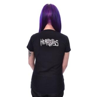 tričko dámské HEARTLESS - GIRLS CLUB - BLACK, HEARTLESS