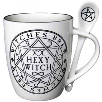 hrnek se lžičkou ALCHEMY GOTHIC - Hexy Witch - ALMUG15