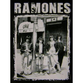 vlajka Ramones - CBGB Photo, HEART ROCK, Ramones