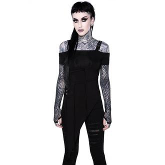 tričko dámské s dlouhým rukávem KILLSTAR - Hole Heartedly Bardot Top - KSRA002133