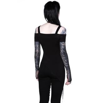 tričko dámské s dlouhým rukávem KILLSTAR - Hole Heartedly Bardot Top, KILLSTAR