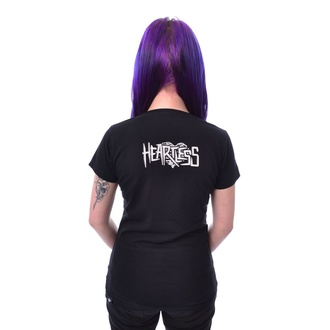 tričko dámské HEARTLESS - HOMICIDAL - BLACK, HEARTLESS