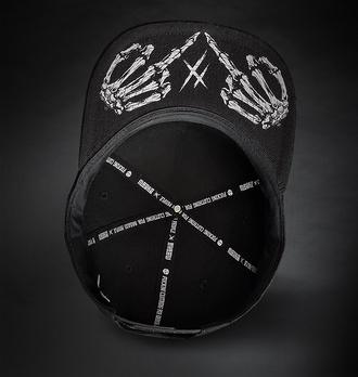 kšiltovka HYRAW - BASIC BLACK, HYRAW