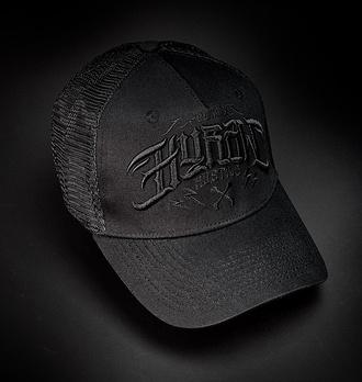 kšiltovka HYRAW - ORIGIN - BLACK - CAP-ORIGIN-BLACK