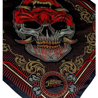 šátek HYRAW - SKULL COLOR, HYRAW
