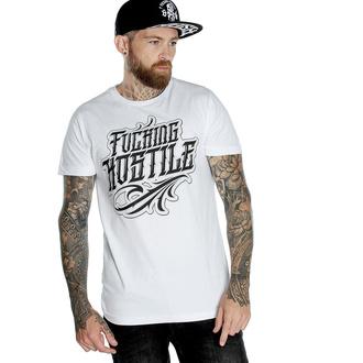 tričko pánské HYRAW - Graphic - fucking H blanc - SS20-M-FO-wh