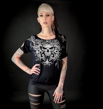 tričko dámské HYRAW - NIGHTMARE, HYRAW