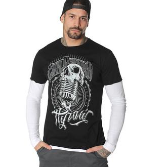 tričko pánské s dlouhým rukávem HYRAW - EVIL RECORD - FW20-M09-LST