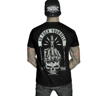 tričko pánské HYRAW - Graphic - GO FUCK - BLACK - SS21-M19-TSH