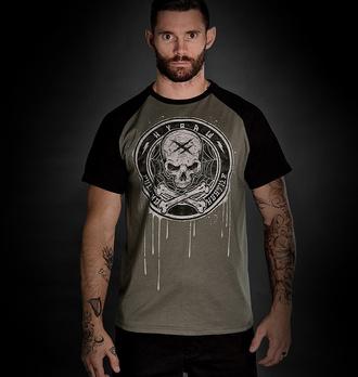 tričko pánské HYRAW - BLAZON - GREY - FW21-M16-SST