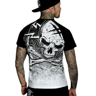 tričko pánské HYRAW - Graphic - RAGLAN BLAZON - WHITE - SS21-M22-TSH