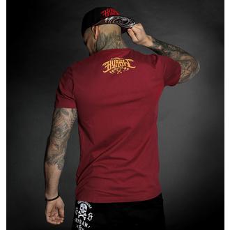 tričko pánské HYRAW - Graphic - GO FUCK RED, HYRAW