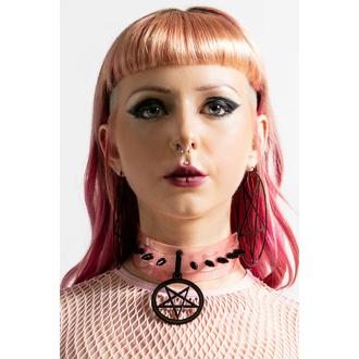 obojek KILLSTAR - I-C Magic - Pastel Pink, KILLSTAR