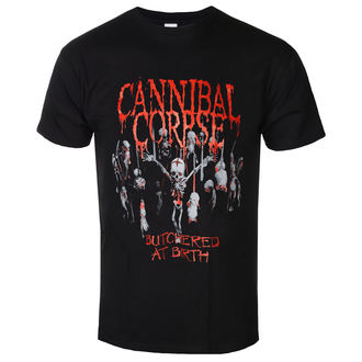 tričko pánské Cannibal Corpse - Butchered At Birth - PLASTIC HEAD - PH9526