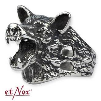 prsten ETNOX - Wolf Head