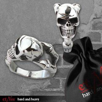 prsten ETNOX - Skull - SR1403